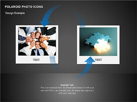 Polaroid Icons, Slide 2, 00090, Icons — PoweredTemplate.com