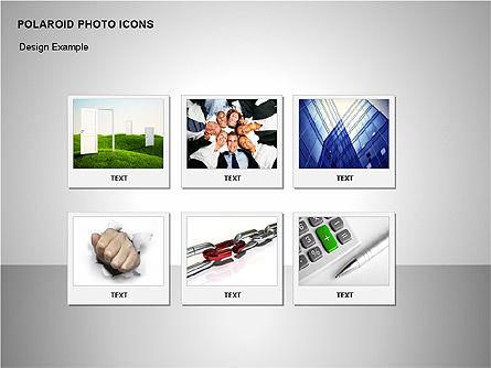 Polaroid Icons, Slide 4, 00090, Icons — PoweredTemplate.com