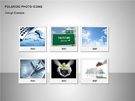 Polaroid Icons, Slide 5, 00090, Icons — PoweredTemplate.com
