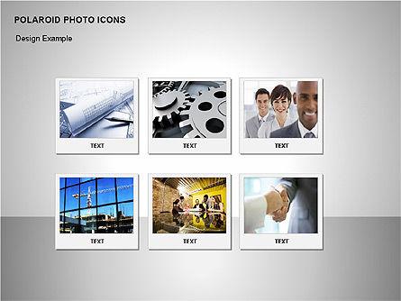 Polaroid Icons, Slide 7, 00090, Icons — PoweredTemplate.com