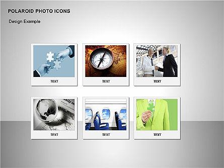 Polaroid Icons, Slide 8, 00090, Icons — PoweredTemplate.com