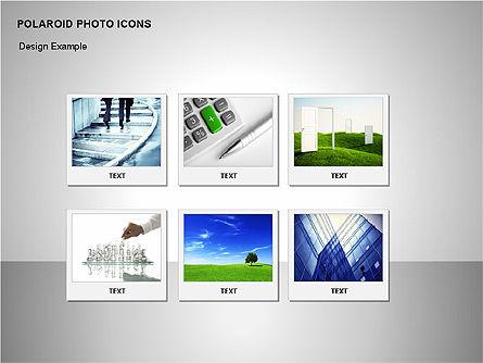 Polaroid Icons, Slide 9, 00090, Icons — PoweredTemplate.com