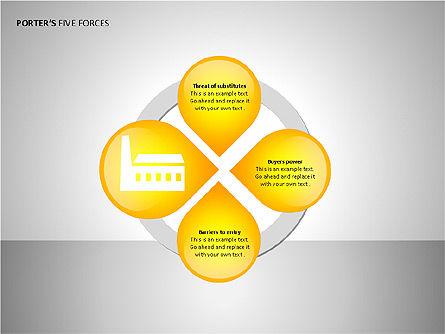 Porter's Forces Analysis, Slide 14, 00091, Business Models — PoweredTemplate.com