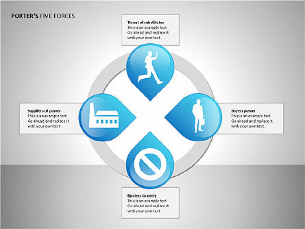 Porter's Forces Analysis, Slide 5, 00091, Business Models — PoweredTemplate.com