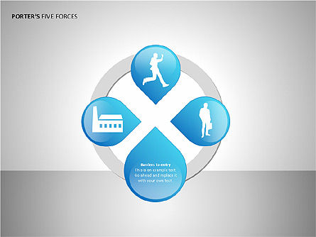 Porter's Forces Analysis, Slide 9, 00091, Business Models — PoweredTemplate.com