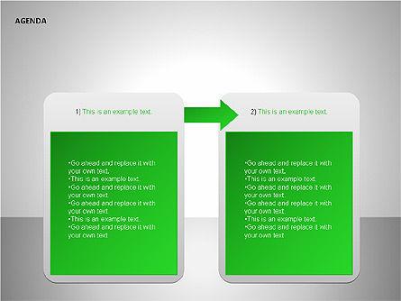 Agenda Lists, Slide 11, 00092, Text Boxes — PoweredTemplate.com