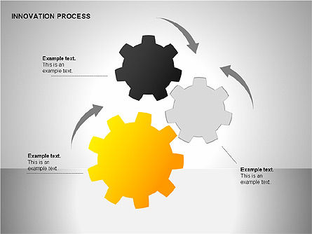 Innovation Process Diagrams, Slide 10, 00096, Process Diagrams — PoweredTemplate.com