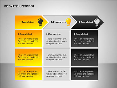 Innovation Process Diagrams, Slide 11, 00096, Process Diagrams — PoweredTemplate.com