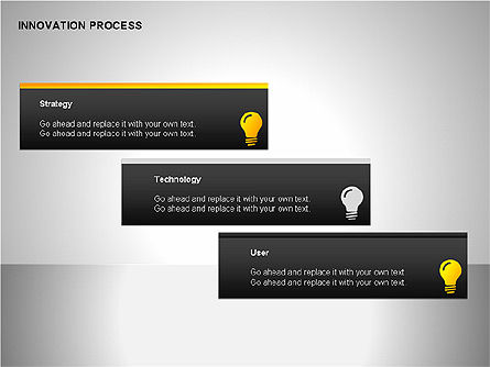 Innovation Process Diagrams, Slide 13, 00096, Process Diagrams — PoweredTemplate.com