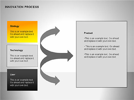 Innovation Process Diagrams, Slide 14, 00096, Process Diagrams — PoweredTemplate.com