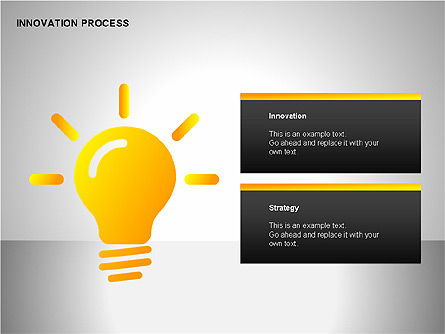 Innovation Process Diagrams, Slide 3, 00096, Process Diagrams — PoweredTemplate.com