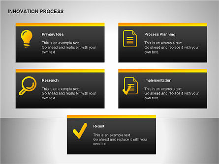 Innovation Process Diagrams, Slide 4, 00096, Process Diagrams — PoweredTemplate.com