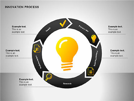 Innovation Process Diagrams, Slide 5, 00096, Process Diagrams — PoweredTemplate.com