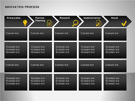 Innovation Process Diagrams, Slide 6, 00096, Process Diagrams — PoweredTemplate.com