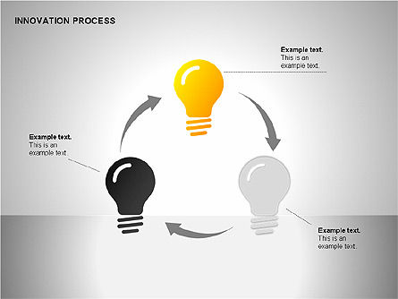 Innovation Process Diagrams, Slide 7, 00096, Process Diagrams — PoweredTemplate.com