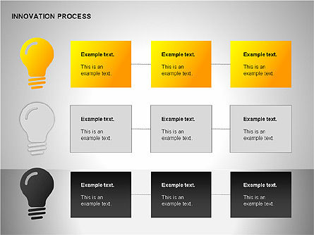 Innovation Process Diagrams, Slide 8, 00096, Process Diagrams — PoweredTemplate.com