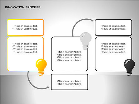Innovation Process Diagrams, Slide 9, 00096, Process Diagrams — PoweredTemplate.com