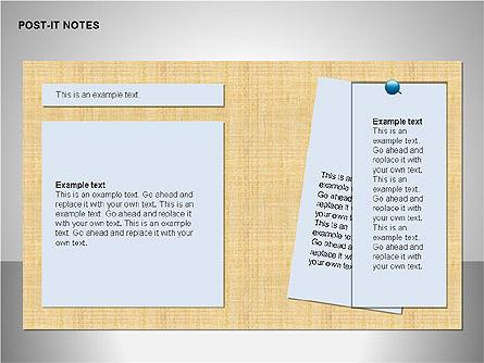 Post-It Notes Shapes Slide 2
