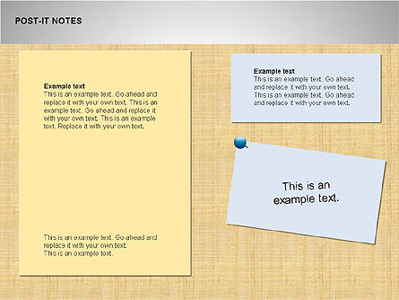 Post-It Notes Shapes Slide 3