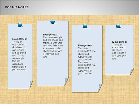 Post-It Notes Shapes Slide 4