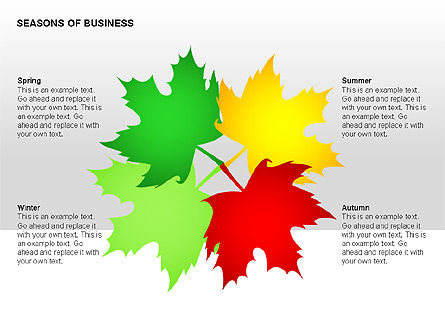 Seasons of Business Shapes