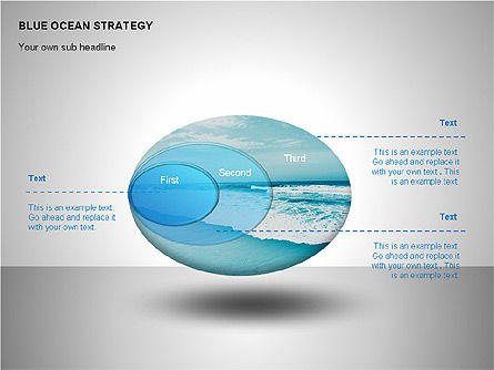 Blue Ocean Strategy, Slide 4, 00100, Business Models — PoweredTemplate.com