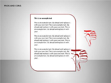 Pros and Cons Charts, Slide 13, 00103, Shapes — PoweredTemplate.com