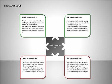 Pros and Cons Charts, Slide 5, 00103, Shapes — PoweredTemplate.com
