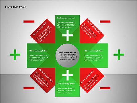 Pros and Cons Charts, Slide 6, 00103, Shapes — PoweredTemplate.com