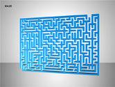Free Maze Shapes#5