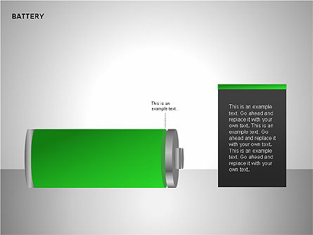 Battery Charge Diagrams, Slide 9, 00106, Stage Diagrams — PoweredTemplate.com