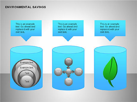 Environmental Savings Icons Slide 2