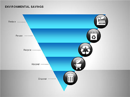 Environmental Savings Icons Slide 3