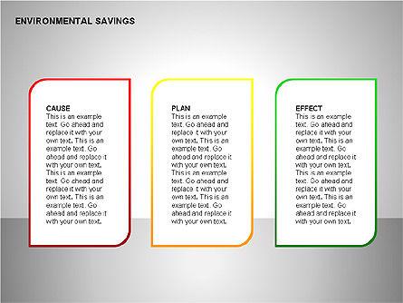 Environmental Savings Icons, Slide 6, 00107, Icons — PoweredTemplate.com