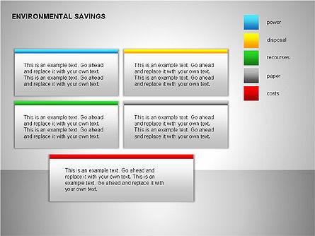 Environmental Savings Icons, Slide 8, 00107, Icons — PoweredTemplate.com