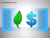 Environmental Savings Icons#1