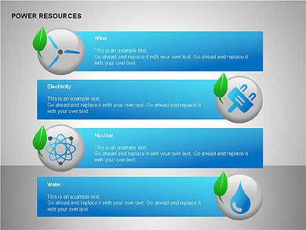 Power Resources Icons, Slide 11, 00108, Icons — PoweredTemplate.com