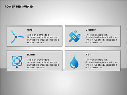 Power Resources Icons Slide 4