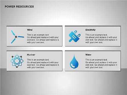 Power Resources Icons, Slide 4, 00108, Icons — PoweredTemplate.com