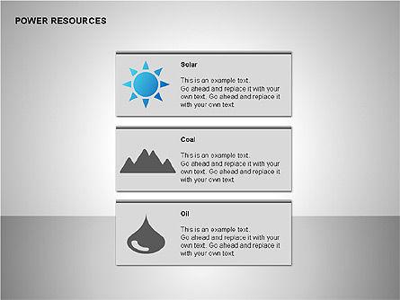 Power Resources Icons, Slide 5, 00108, Icons — PoweredTemplate.com