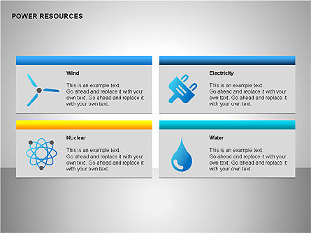Power Resources Icons, Slide 7, 00108, Icons — PoweredTemplate.com