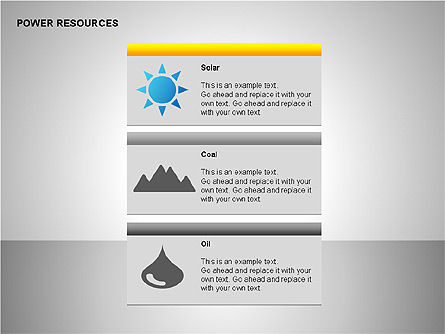 Power Resources Icons, Slide 8, 00108, Icons — PoweredTemplate.com
