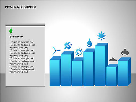 Power Resources Icons, Slide 9, 00108, Icons — PoweredTemplate.com