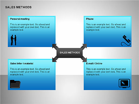 Shapes: Sales Methods Diagrams #00109