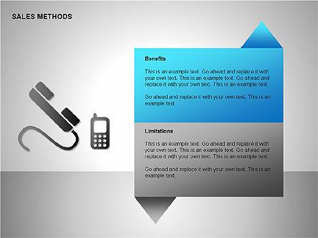Sales Methods Diagrams, Slide 10, 00109, Shapes — PoweredTemplate.com