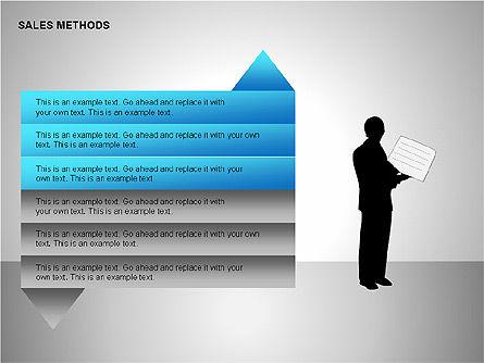 Sales Methods Diagrams, Slide 11, 00109, Shapes — PoweredTemplate.com