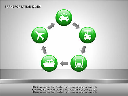 Transportation Icons Slide 2