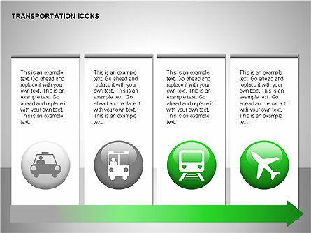 Transportation Icons Slide 4