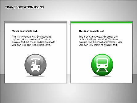 Transportation Icons, Slide 9, 00111, Icons — PoweredTemplate.com