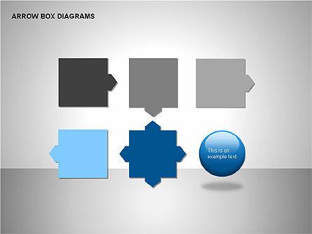 Arrow Box Diagrams, Slide 15, 00115, Puzzle Diagrams — PoweredTemplate.com